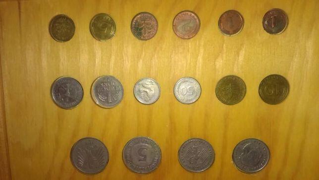Коллекция старых немецких монет