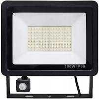 Halogen Lampa Naświetlacz LED 100W Z Czujnikiem Ruchu