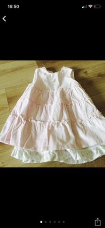 Платье Chicco 24 мес 2 года как новое одето 2 раза