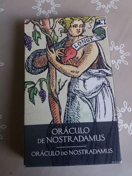 Cartas tarôt do oráculo de nostradamus