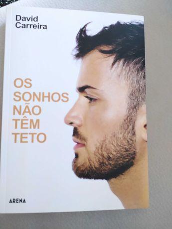 Livros - David Carreira / Margarida Rebelo Pinto