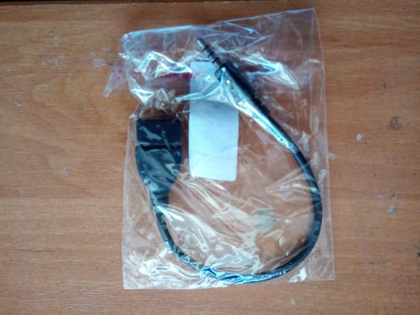 OTG конвертер адаптер Audio AUX Jack 3.5 mm папа в USB 2.0 Type A мама