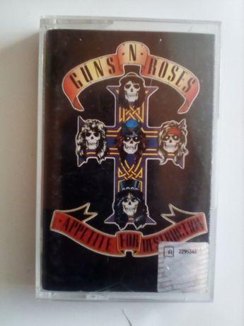 Guns N Roses Appettite for Destruction Kaseta audio