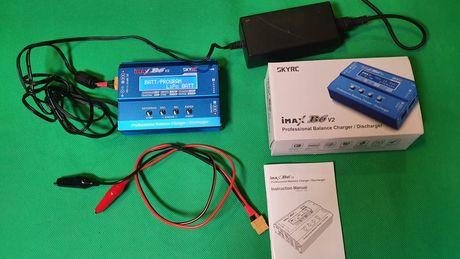 Универсальное зарядное устройство для аккумуляторов imax b6 v2 skyrc