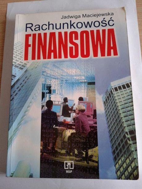 "Książka ""Rachunkowość finansowa"" Maciejewska"