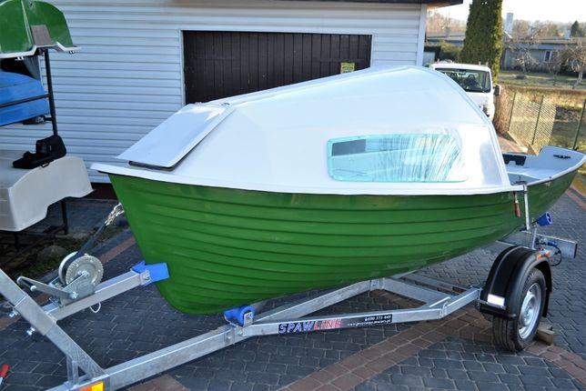 Łódka Kabinowa Kabina Nakładka Meduza 430 Wędkarska Antila