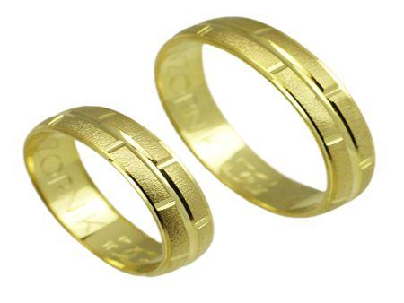 Złote obrączki 585 Royal 047 - Jubiler Goldrun Chorzów