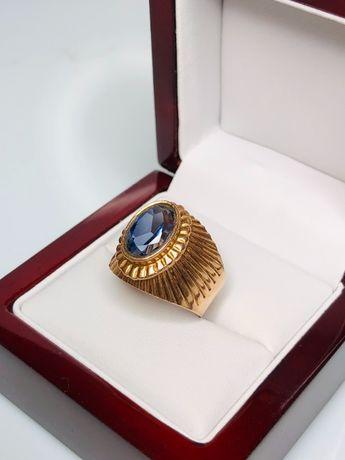 zjawiskowy złoty pierścionek p585 8,56g