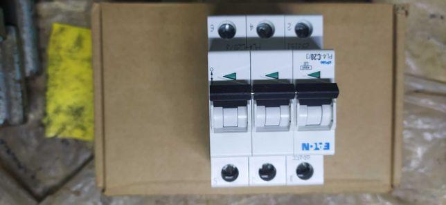 Автоматический выключатель Eaton (Moeller) 20A 3пол. PL4-C20/3