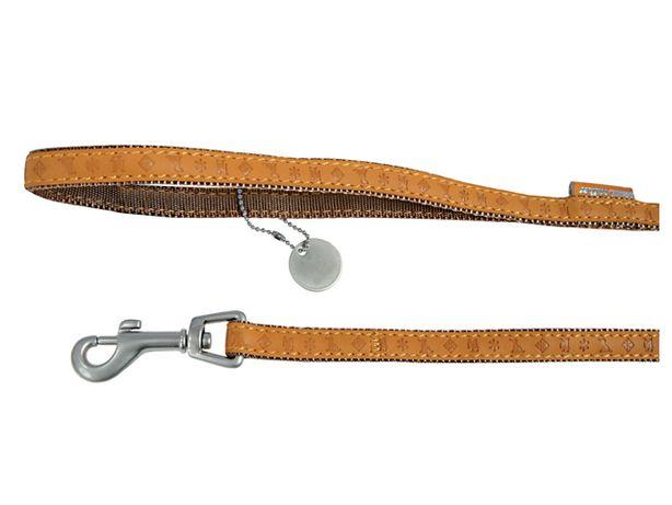 Zolux Smycz Mac Leather 25mm/1.2m ŻÓŁTA 50% CENY
