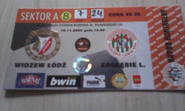 Widzew Łódź-Zagłębie Lubin 10.11.2006