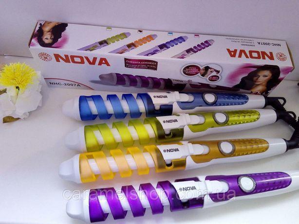Плойка спиральная для волос NOVA (NHC-8558)