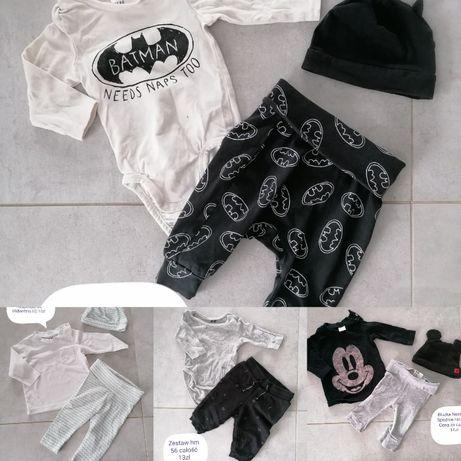 ubranka dziecięce chłopięce 56 next hm i inne MEGAPAKA