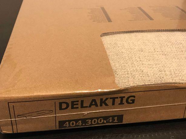 IKEA DELAKTIG nowy pokrowiec pokrycie 3-os. 202x82x15cm 404.300.41 beż