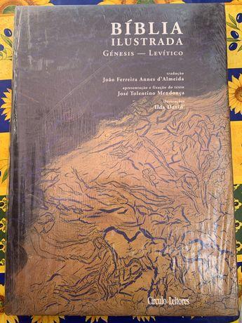 Conjunto de BÍBLIA ILUSTRADA ( 8 volumes ) Novos Embalados