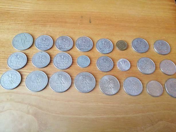 Sprzedam rozne monety