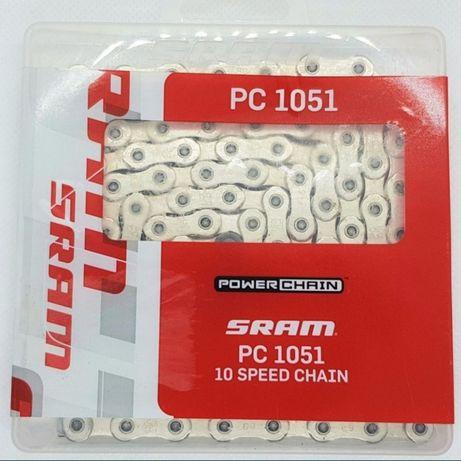 Łańcuch SRAM PC 1051 10s + spinka NOWY