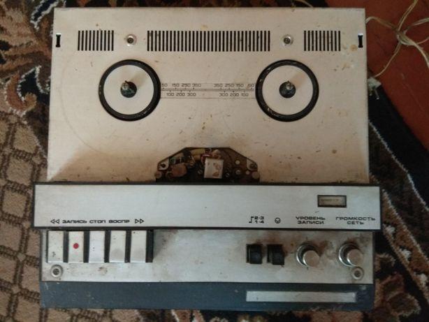 Бабінік магнітофон приставка