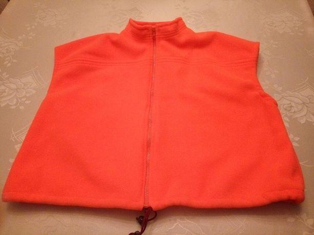 bezrękawnik *kamizelka polarowa * neonowa bluza