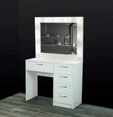 Туалетный столик,для макияжа,гримерное зеркало,стол визажное ,бровиста