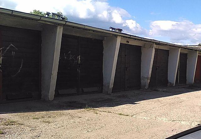 Garaż murowany Orkana