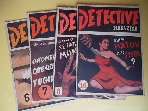 Detective Magazine - 24 revistas antigas