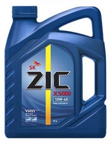 Моторное масло ZIC 5000 DIESEL 10W40 SK 4 л. и ZIC X5 10W40 1л.