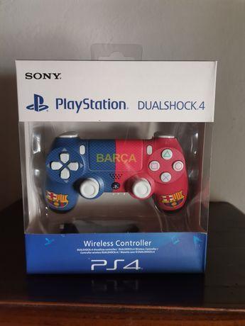 Comando PS4 Barça na caixa selado (entrega imediata)