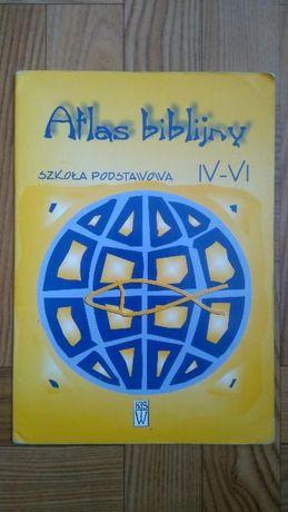 Atlas biblijny.Szkoła Podstawowa IV-VI