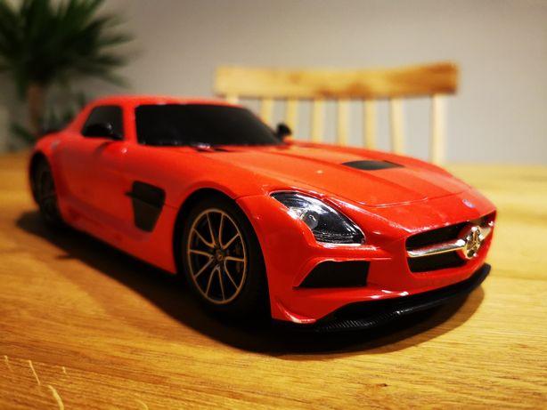 Samochód zdalnie sterowany Mercedes SLS AMG 24 cm