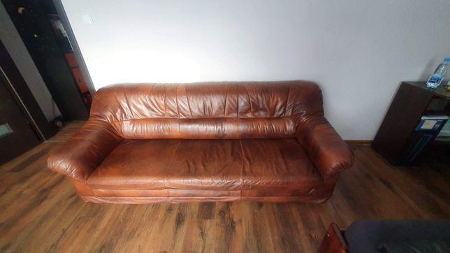Kanapa sofa brązowa