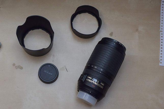 Nikkor AF-S 70-300 f/4.5-5.6 G IF-ED VR