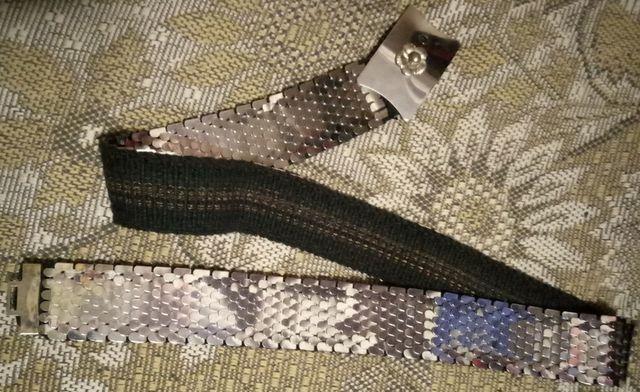 Металлический ремень. Пояс из металлических пластин