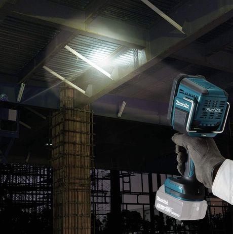 Ручной фонарик Аккумуляторный фонарь-прожектор Makita DML812