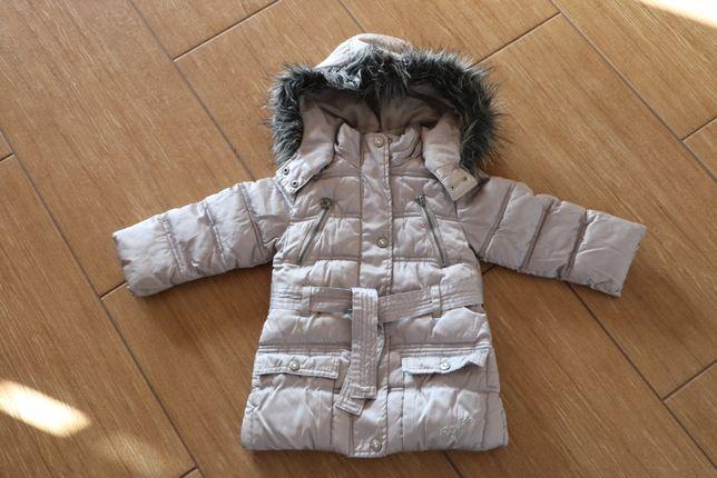 Kurtka zimowa dla dziewczynki w rozmiarze 98 cm