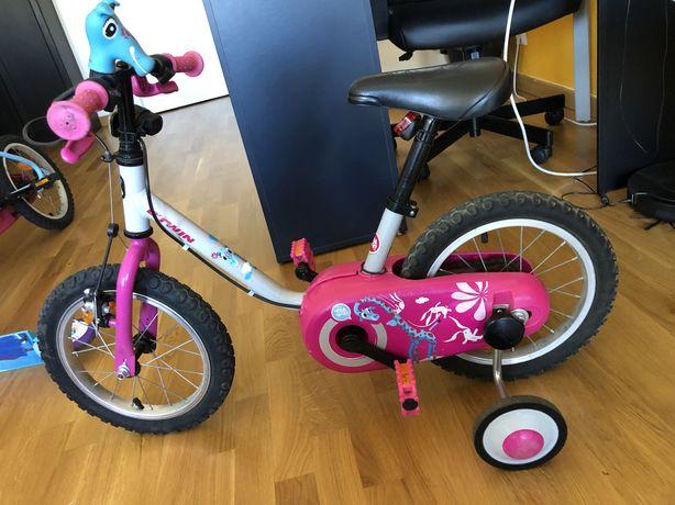 Bicicleta De criança Btwin 3-4,5 ANOS 100 14 POLEGADAS