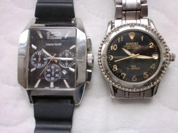 наручные часы-Alberto Kavalli кварцевые и Rongqi механические