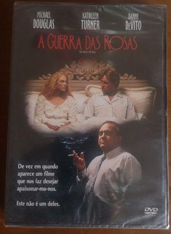 """DVD novo/selado """"A Guerra das Rosas"""""""