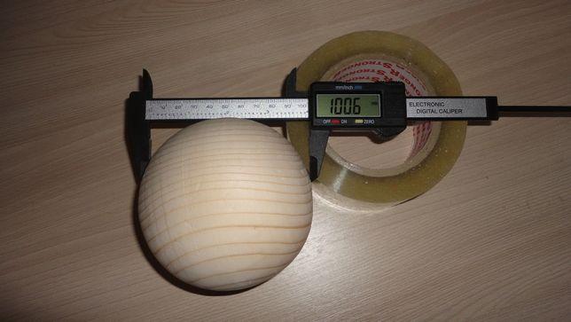 Полусфера - Шар деревянный - 2 - 10 см