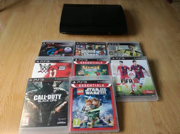 PS3 plus 7 gier!!!