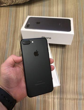 Идеал iPhone 7+ Plus 128Gb Matte Black Neverlock Айфон семь плюс