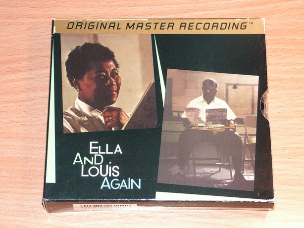 Ella Fitzgerald&Louis Armstrong-Ella And Louis Again MFSL gold box 2cd