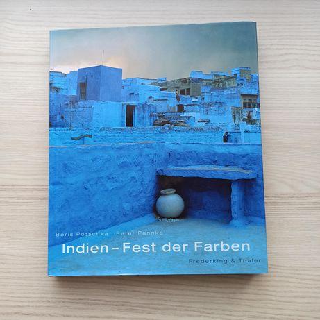 Indien - fest der farben książka w języku niemieckim