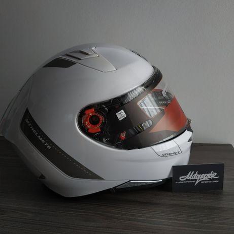 Шлем MT Revenge 2 Solid White