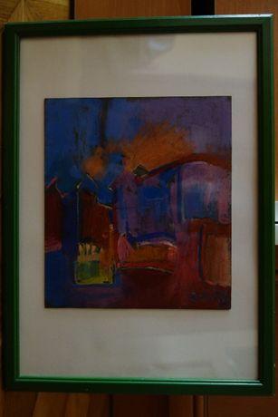 Obraz 32 x 24 cm, pastel - autor Ryszard Miłek - okazja !!!