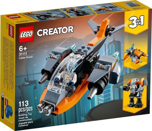 Lego Creator 31111 3w1 Cyberdron Cybermech Cyberskuter Wys24