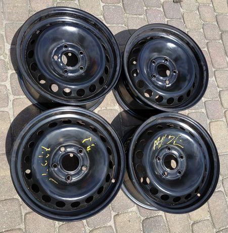 """Felgi stalowe 15"""" Renault 5x114.3 ET43 6.5Jx15H2 komplet 4szt"""
