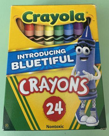 Воскові олівці crayola 24 шт.