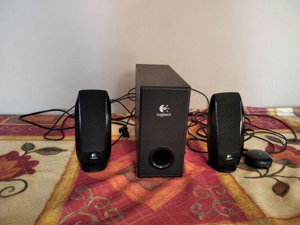 Głośniki Logitech 2+1