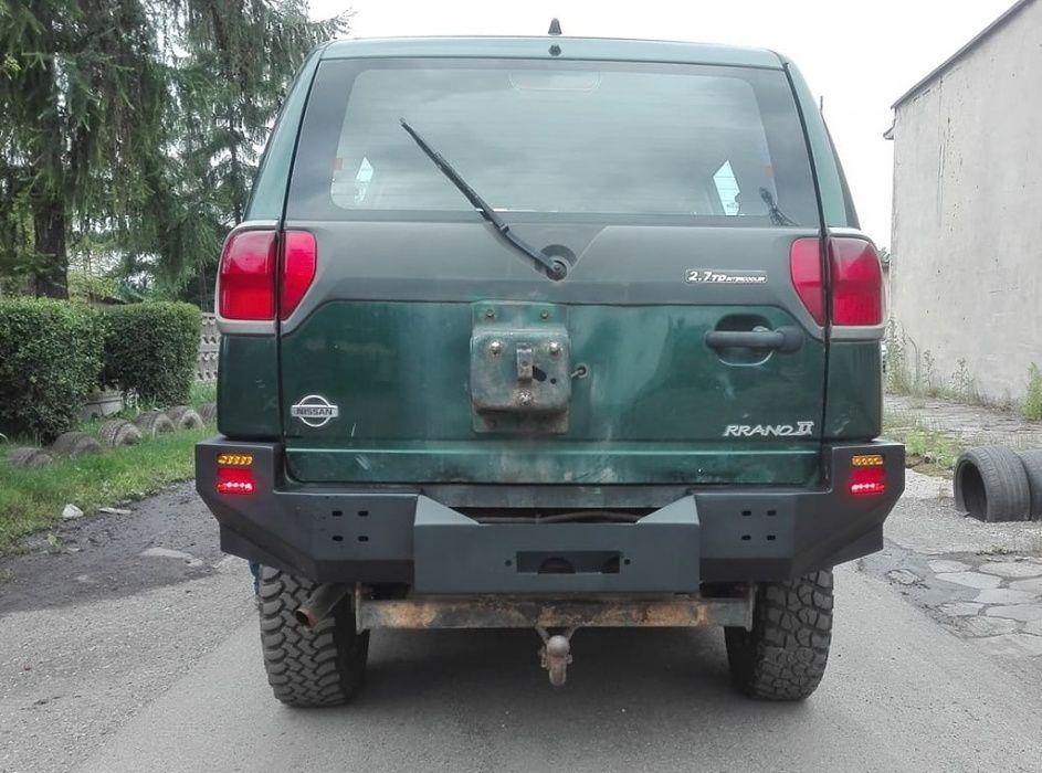 Zderzak stalowy Nissan Terrano - tył/tylny Mysłowice - image 1